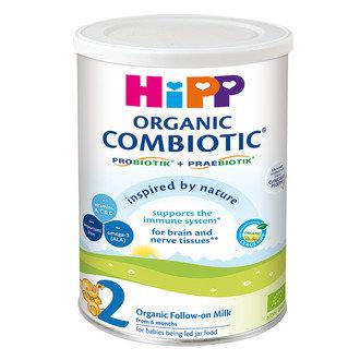 HIPP БИО Бебешко адаптирано преходно мляко 2 Combiotic® 6м.+
